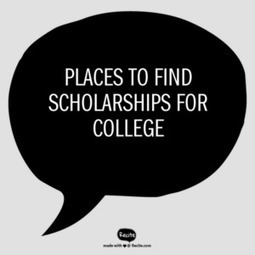 Places to Find Scholarships for College | College Scholarships | Scoop.it