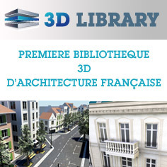 3DLibrary | Rendons visibles l'architecture et les architectes | Scoop.it