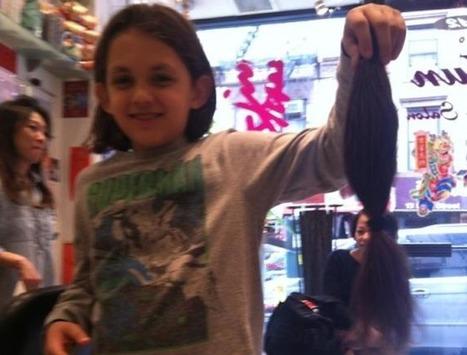 A 10 ans, il fait don de ses cheveux pour les malades du cancer | Bruno Raconte-moi | Scoop.it