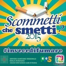 #invecedifumare : challenge fotografico con @igersmodena | Health promotion. Social marketing | Scoop.it