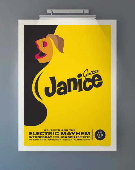 Retro Muppet Concert Posters | GRaphicARTnews | Scoop.it