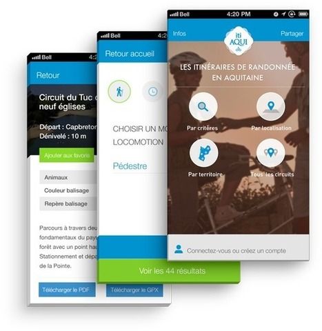 Itiaqui : l'application mobile pour l'itinérance douce en (...) - GMT Éditions - expertise etourisme | Voyager autrement | Scoop.it
