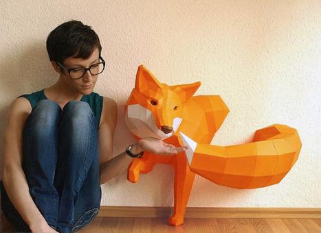 DIY paper sculptures | Paper Art | Scoop.it