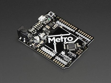 Adafruit METRO 328 without Headers - ATmega328 | Open Source Hardware News | Scoop.it