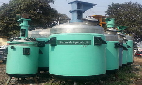 Chemical Reactor Manufacturer in India – Hexamide Agrotech | Mahesh Raje | Scoop.it