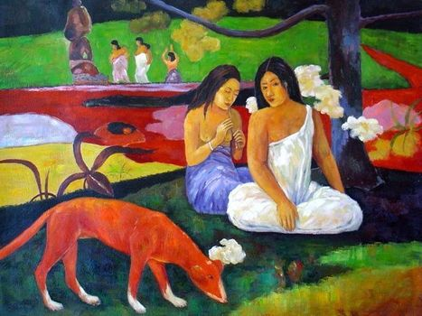 Paul Gauguin expliqué aux enfants (jeux interactifs, bibliographie) | Arts et FLE | Scoop.it