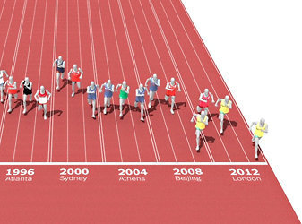 One Race, Every Medalist Ever: Bolt-mania! | Bolt and London 2012 | Scoop.it