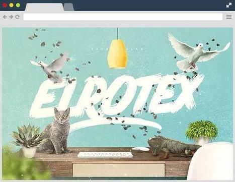 Elrotex Brush Free Font | Designrazzi | Bazaar | Scoop.it