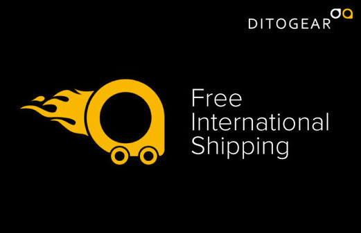 Shop at DitoGear and Receive Free Shipping at ANY Location in the World!