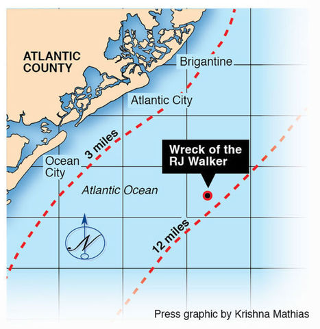 Shipwreck off Atlantic City now major marine archeology project, maritime classroom | Dive Computers | Scoop.it