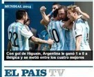 Los medios del mundo elogiaron a Argentina y a Higuaín - Infonews   Argentina is all   Scoop.it