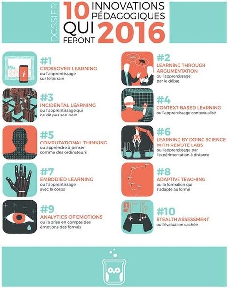 DOSSIER: 10 innovations pédagogiques qui feront 2016 | Sydologie – toute l'innovation pédagogique ! | Ressources pour le eLearning | Scoop.it