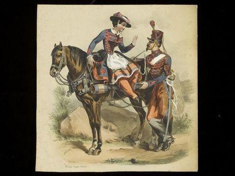 Vivandieres: Part 3 | V&A | Costume History | Scoop.it