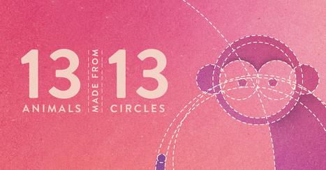 13 #Animals | 13 #Circles - #Design #Illustration | Design Ideas | Scoop.it
