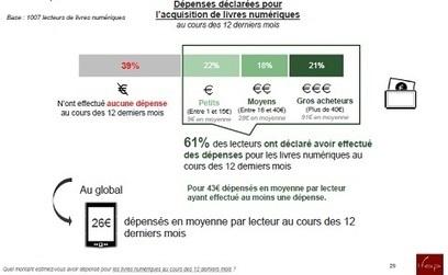 France : Une gigantesque étude sur les usages du livre numérique | ebooks | Scoop.it