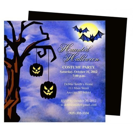 Halloween Invitations Party DIY Printable Templates | Ready Made Celebration Templates | Scoop.it
