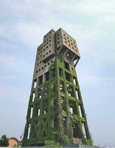 Anti-Zombie Fortress: Japan's Abandoned Shime Tower | Modern Ruins | Scoop.it