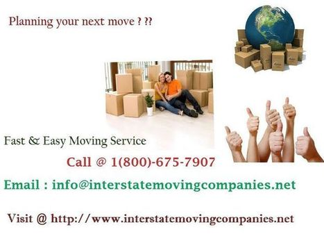Cheap Interstate Movers   Choose A Trusted Interstate Movers   Scoop.it