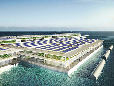 Could solar-powered floating farms provide enough food for the entire world? | Vertical Farm - Food Factory | Scoop.it