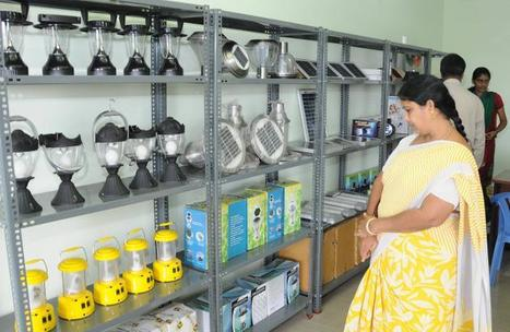 Solar-powered system shines as suitable solution - The Hindu   Energy public policy management   Scoop.it