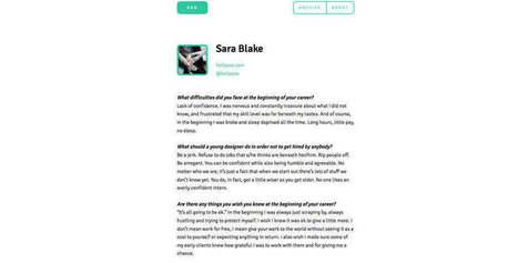 Cinco preguntas a cien diseñadores | Aprendiendo a Distancia | Scoop.it
