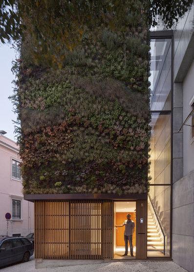 Casa com jardim vertical em Lisboa | PARQ magazine | ProAmbiente | Scoop.it