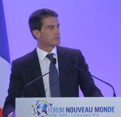 "Valls dénonce la ""dictature de l'immédiateté"" 