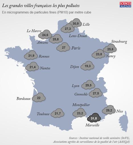 [Infographie] Sur ces 17 villes françaises, laquelle est la plus polluée ? | Toxique, soyons vigilant ! | Scoop.it