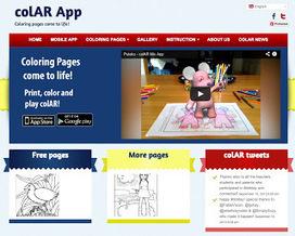 CoLar Mix, dale vida a tus dibujos | Disfrutar aprendiendo | Scoop.it