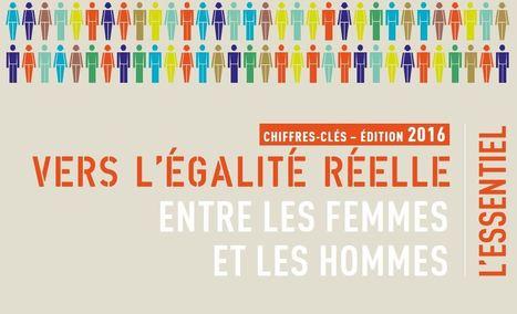 Vers l'égalité réelle entre les femmes et les hommes – Chiffres-clés – Édition 2016 – Ministère des Familles, de l'Enfance et des Droits des femmes | Un monde de Fameuses | Scoop.it