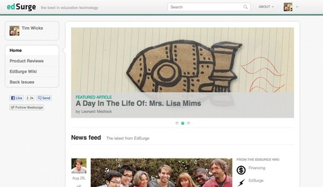 EdSurge -news and information on innovation in education technology! | edstartup | Scoop.it