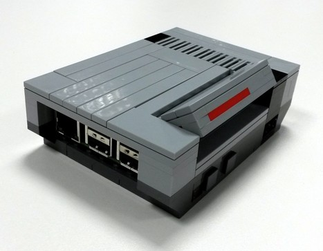 LEGO NesPi case - Raspberry Pi | Raspberry Pi | Scoop.it