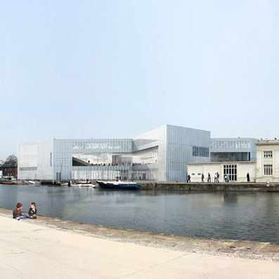 Work starts on OMA-designed library in Caen, France - Dezeen | Architecture and Architectural Jobs | Scoop.it