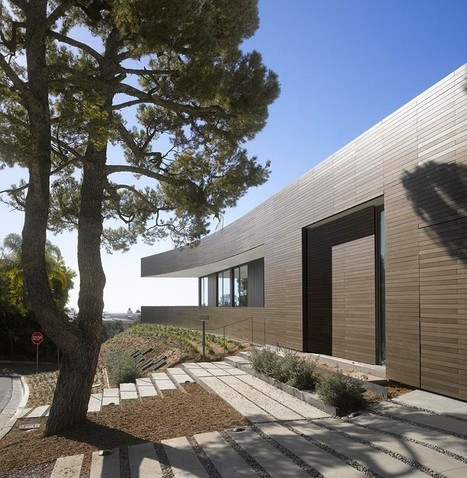 SPF:architects designs double stick residence in california | Innovative Architecture and Façade design | Scoop.it