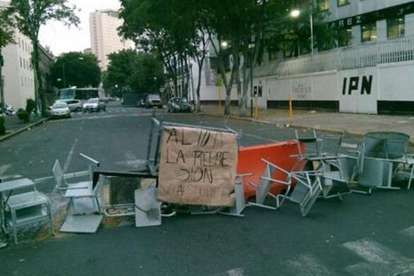 Protestan alumnos afuera de Voca 5   Ciudadanía   Scoop.it