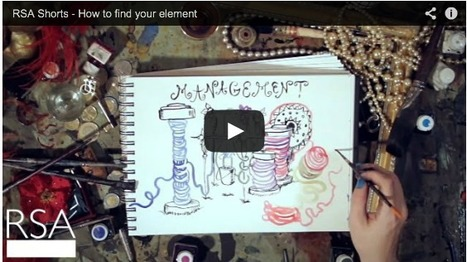RSA Shorts - How to Find Your Element by Sir Ken Robinson | Creativa Escolar | Scoop.it