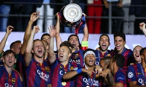 Juventus 1-3 Barça: Luis Suárez's strike rewards Barcelona's dominance to break Juventus - The Guardian | AC Affairs | Scoop.it