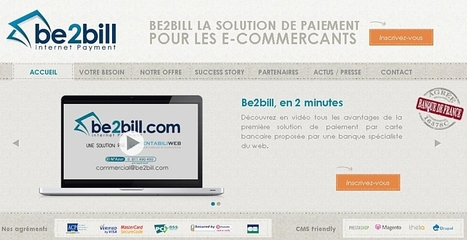 Be2Bill réduit le taux d'abandon des paiements sur Internet | Web Marketing Magazine | Scoop.it