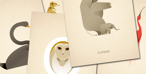 Animal Alphabet | Marcus Reed | Créaction | Scoop.it