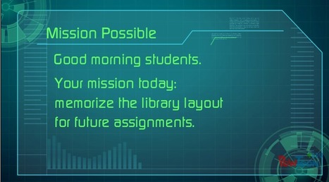 Mission Possible-7th Grade Orientation | 21st Century School Library | Scoop.it