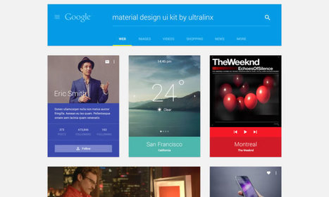 Top 50 Free Web UI Kits and Templates | Digital Brand Marketing | Scoop.it