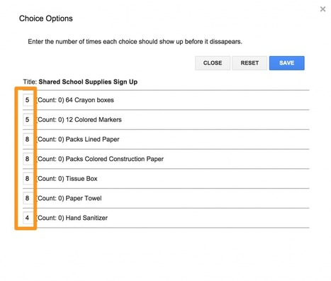 Coordinate Back-to-School with Choice Eliminator and Google Forms - From Kate Wilson | Subject Resources | Scoop.it