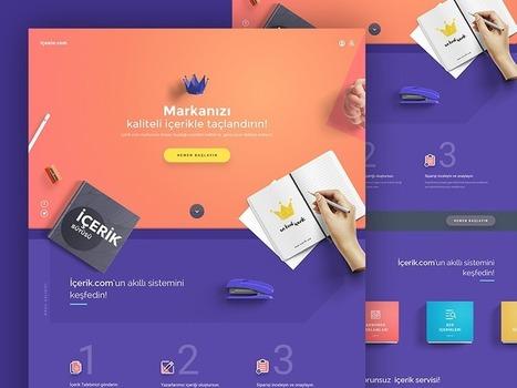 Strong Color Inspiration | El Mundo del Diseño Gráfico | Scoop.it