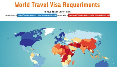World Travel Visa Requeriments | Tourism : Collaterals | Scoop.it
