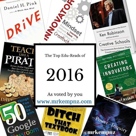 The Top 8 Professional Reads for Educators 2016 (plus more) | Edtech PK-12 | Scoop.it