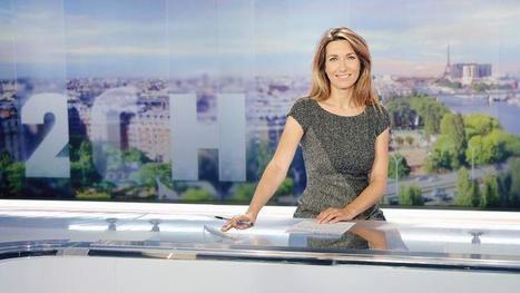 Anne-Claire Coudray: la bonne surprise du JT de TF1 | DocPresseESJ | Scoop.it