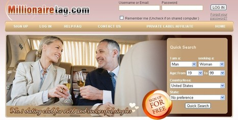 Millioniare Dating Site for sexy women and Wealthy Men. Meet rich singles @ Millionairetag. com Today | Millionaire MatchMaker | Scoop.it
