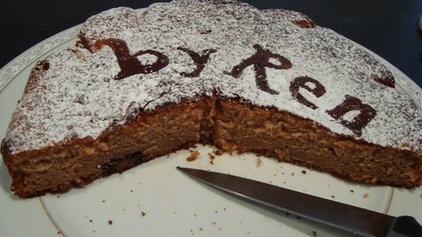 Torta allo yogurt cacao e nutella | Le ricette by Ren | Ricette & Cucina | Scoop.it