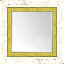 French White and Yellow - Reseller Mirrors Wall Décor Frames by Iconic Pineapple | Iconic Pineapple - Reseller of Mirrors, Traditional Prints, Giclee Art Prints, Big Fish, New Century Picture, Picture It | Scoop.it