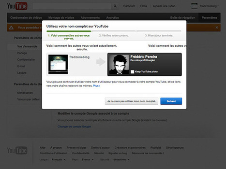 Utiliser son nom complet sur YouTube | Innovación y desarrollo sostenible | Scoop.it